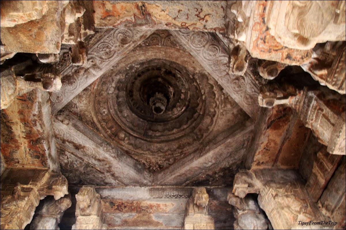 Ranga Mantapa ceiling, Lepakshi