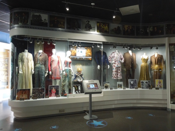 NBC Universal Experience costume prop exhibit Feb 2013