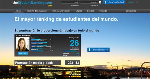 muestra tus mejores notas en Thestudent Ranking - No Entres a Mi Blog