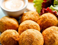 Falafel Assado (vegana)