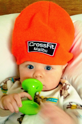 CrossFit Malibu&#39;s Youngest Member