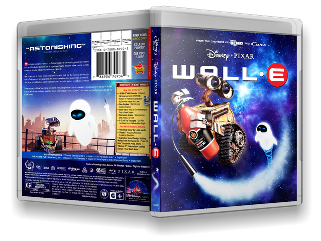 Capa Bluray WALL·E