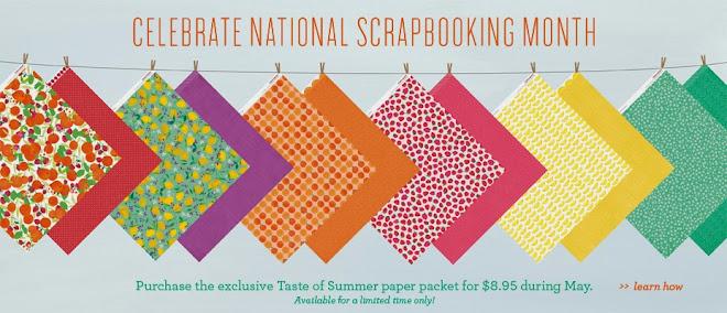 Nat'l Scrapbooking Month