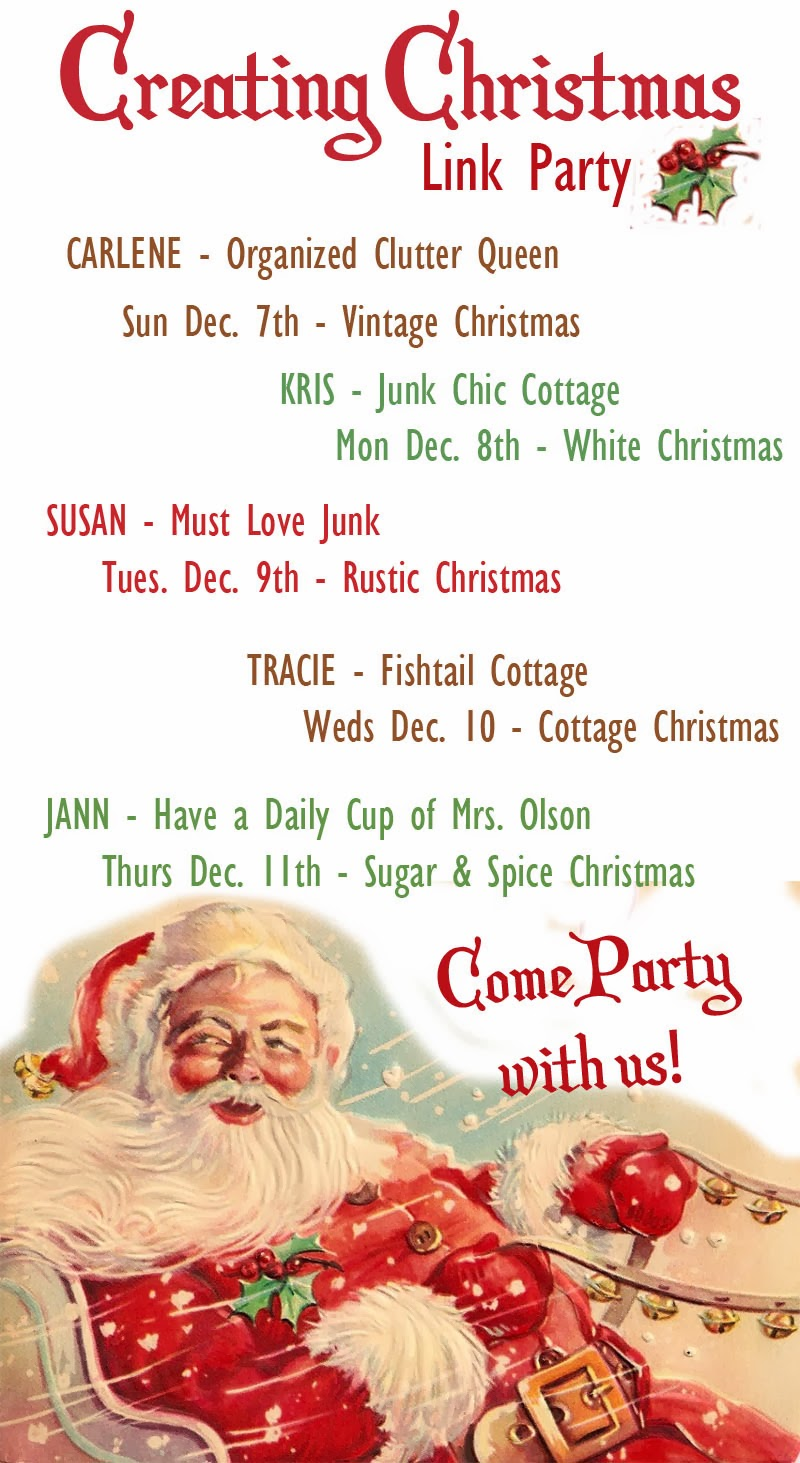 Please Join Us For Our Creating Christmas Link Party