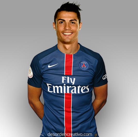 Cristiano Ronaldo Firmo por PSG por 3 Años