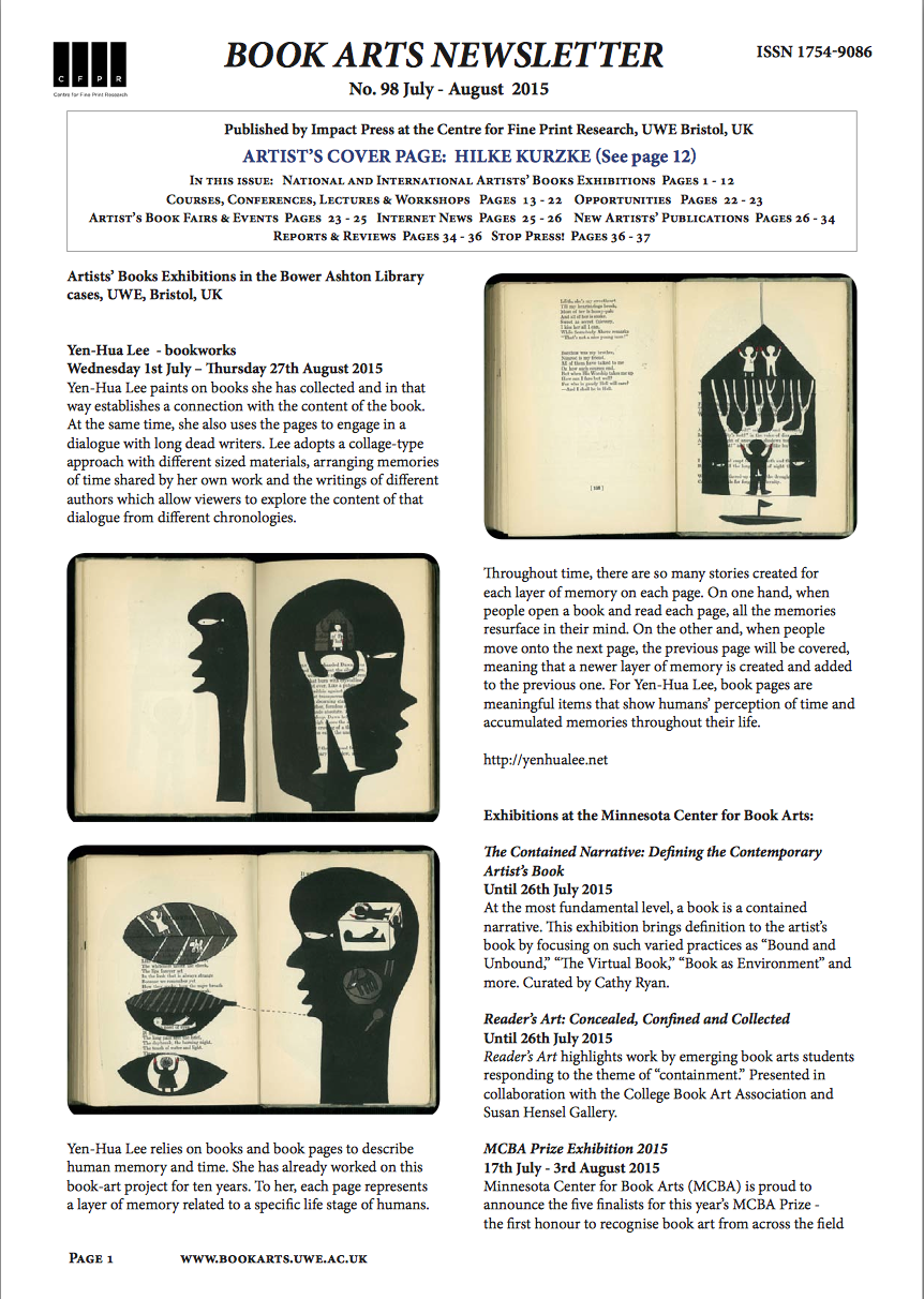 Artists Books And Multiples June 2015
