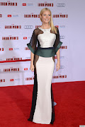 Spotted! Gwyneth Paltrow got a bit daring when she wore this sheer dress by . (gwyneth paltrow sheer dress )