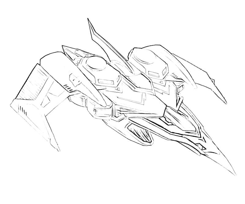 Transformers fall of cybertron swoop transformer surfing for Transformers coloring pages starscream