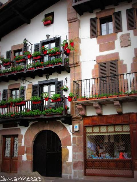 Casas de la calle Braulio Iriarte - Elizondo