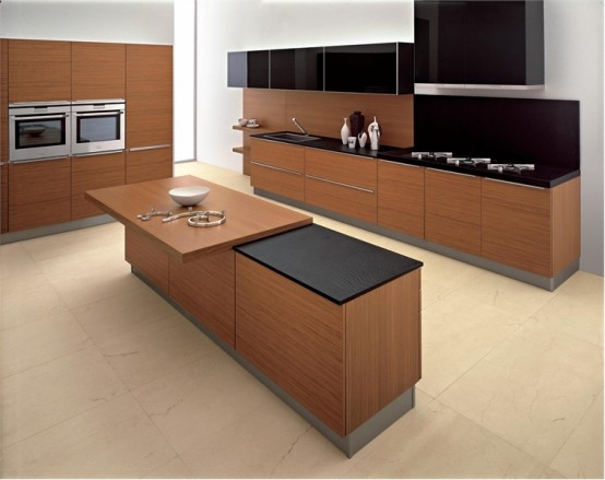 Kitchen design for home interior