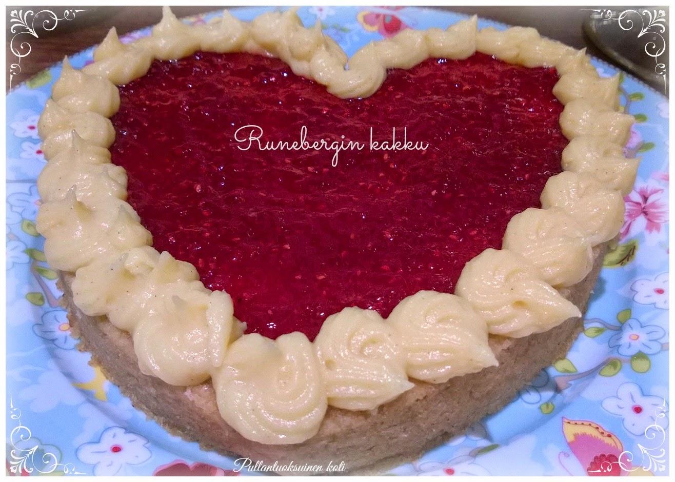 Sydämellinen Runebergin kakku - mikrossa!