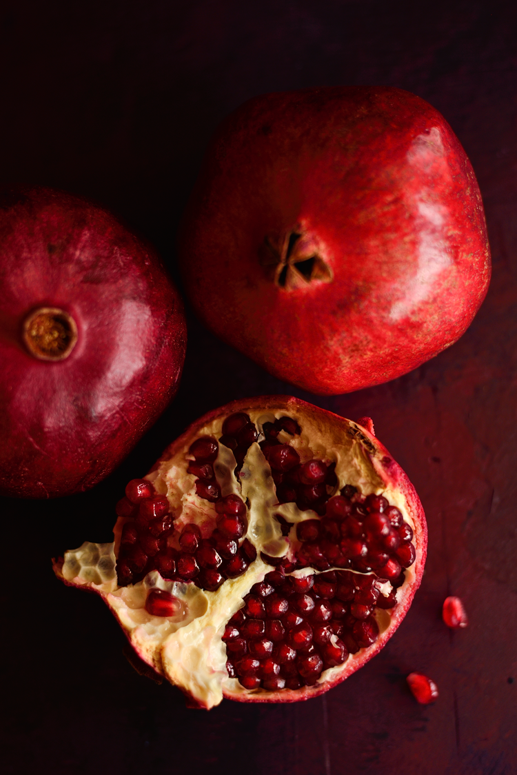 #EggnogPomegranatePannaCotta #HolidayDesserts #NoBakeDessert #SimiJoisPhotography