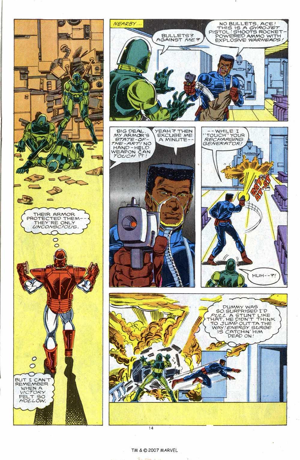 Captain America (1968) Issue #339b #269 - English 21