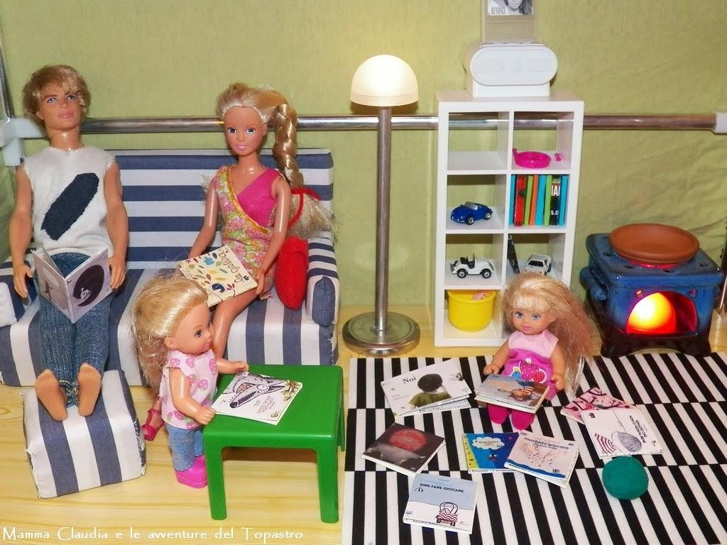 ... le avventure del Topastro: Casa di Barbie fai da te con una scarpiera
