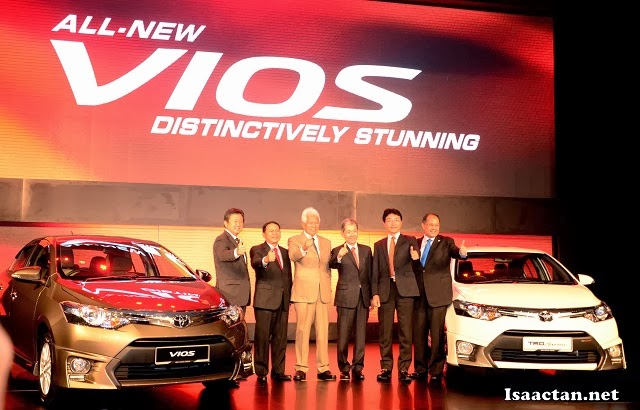 All New Toyota Vios Launched In Malaysia