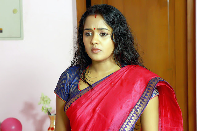 Ananya in Saree