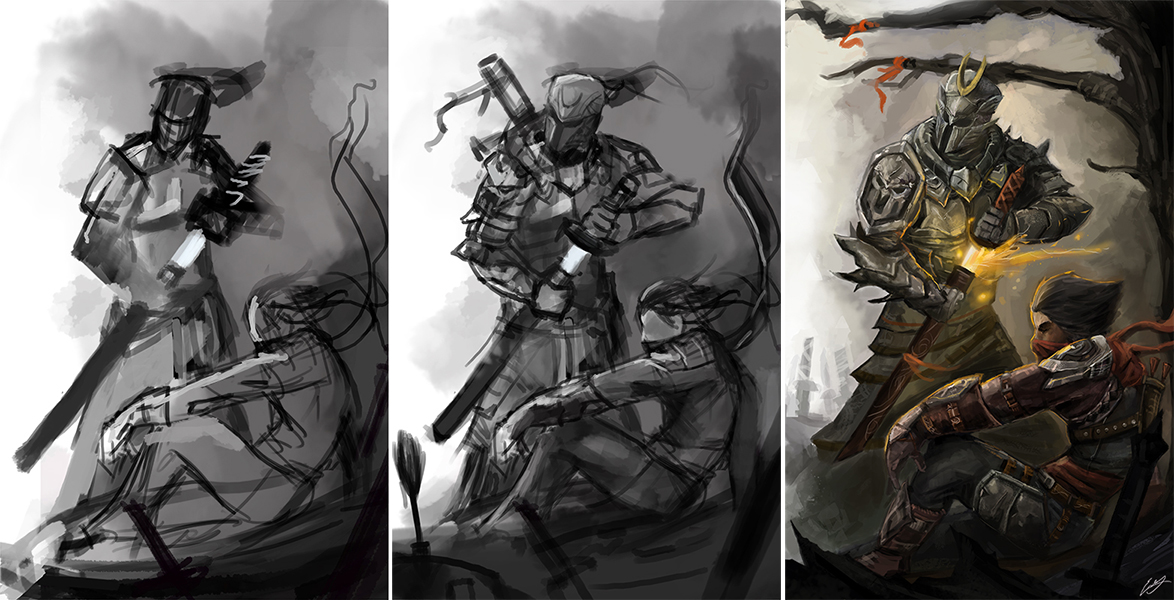 Erik Ly's Super art painting sketching adventure