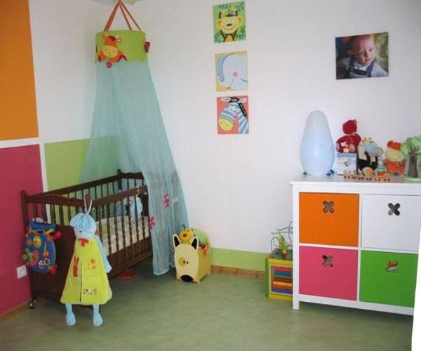 Chambre de bébé fille