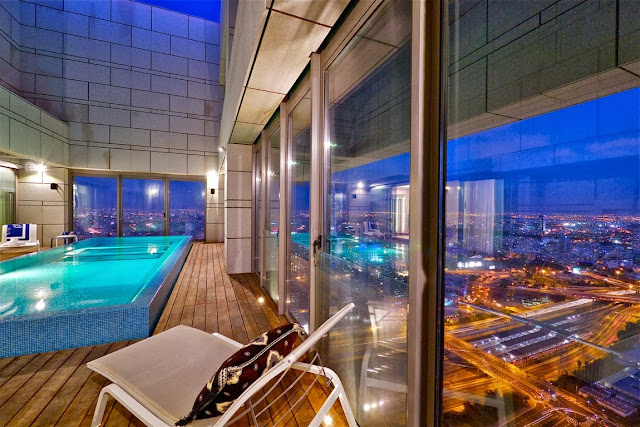 Living In The Sky   The Stylish Sky Penthouse