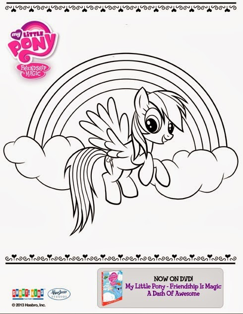 One Savvy Mom   NYC Area Mom Blog My Little Pony Free Printable