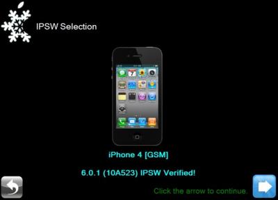 JB iOS 6.0.1 Dengan Sn0wBreeze
