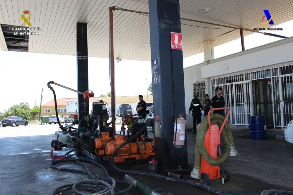 Imagen del Ministerio del tinterior perteneciente a la operacion contra la mafia del gasoleo