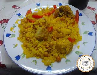 Paellas, paella, paella de Alicante, paella con carne