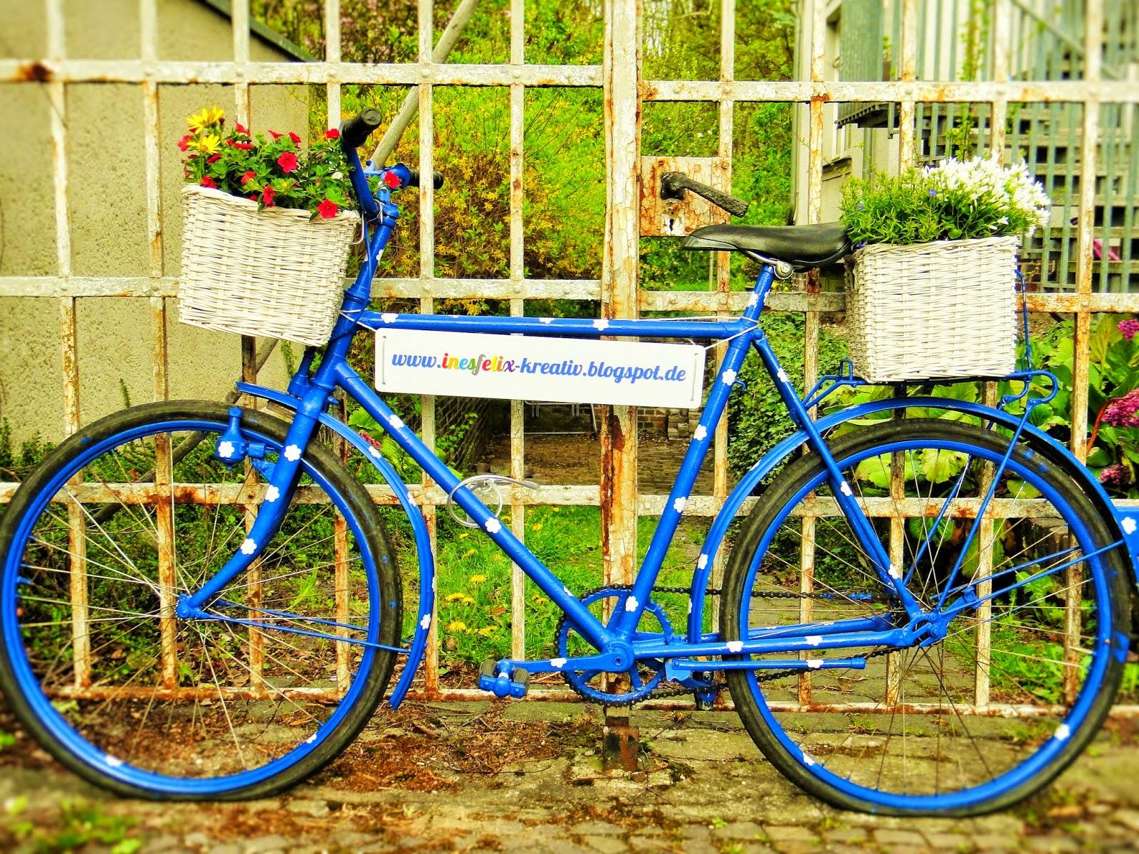 ines felix kreatives zum nachmachen das inesfelix fahrrad. Black Bedroom Furniture Sets. Home Design Ideas