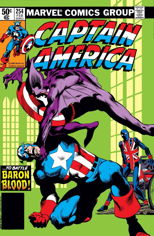 Captain America (1968) Issue #254 #169 - English 1