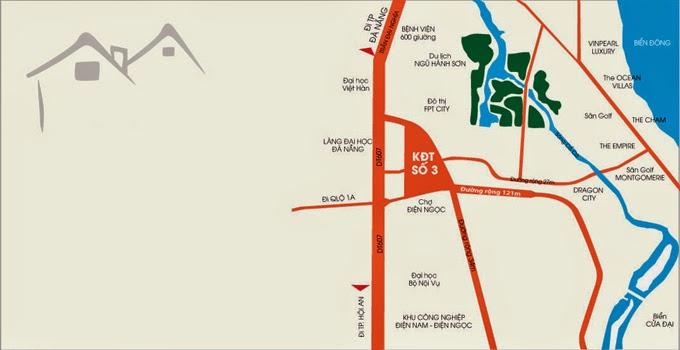 Vị trí Dự án Khu Đô thị số 3