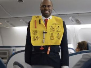 Airline safety jacket