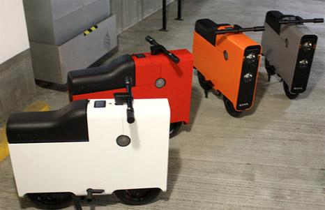 Boxx Electric Bike; Motor listrik kecil bentuk Kotak