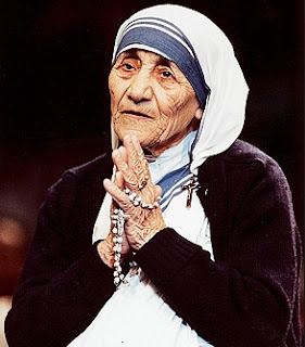 36 years ago, Mother Teresa honored with Nobel Peace Prize