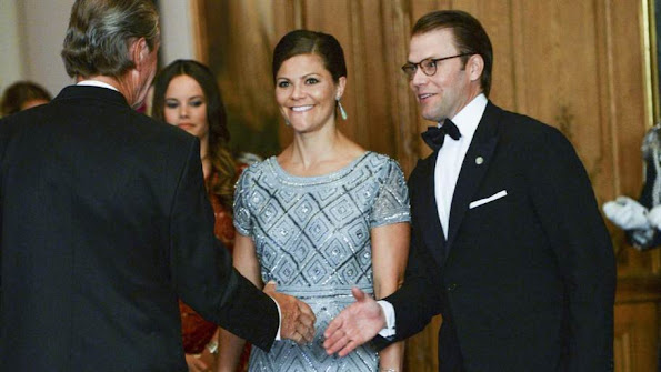 King Carl Gustaf and Queen Silvia, Crown Princess Victoria and Prince Daniel, Prince Carl Phillip and Princess Sofia