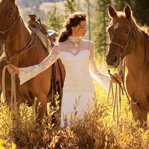 wedding hairstyles western