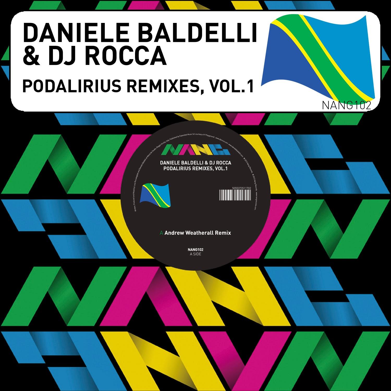 discosafari - DANIELE BALDELLI & DJ ROCCA - Podalirius Remixes Vol 1 - Nang Records