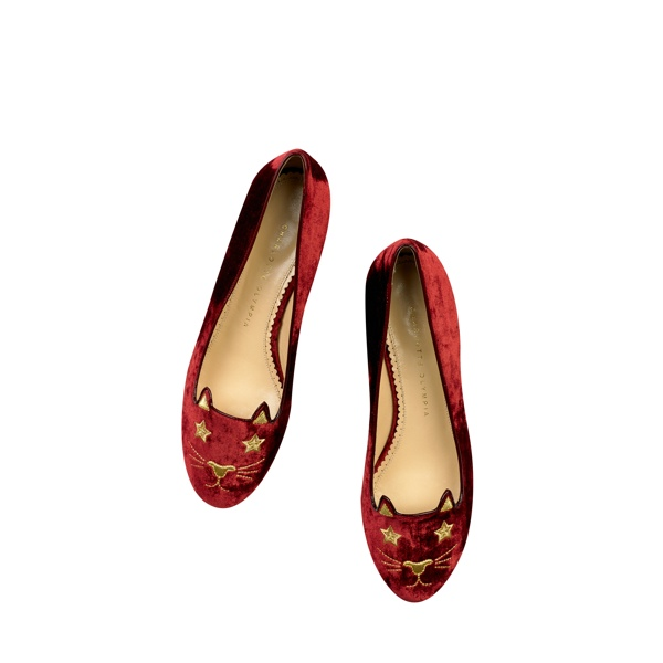 Superstar Kitty - Charlotte Olympia 'Kitty & Co' Cat Flats Collection
