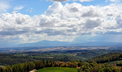 View from Castello di Brolio - Gaiole in Chianti, Italy - Photo by Taste As You Go
