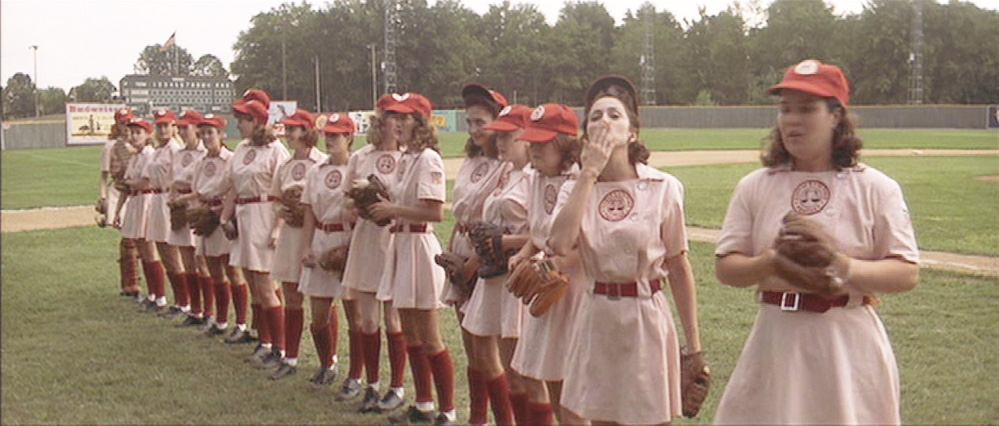 Andi B. Goode: How I made my Rockford Peaches costume