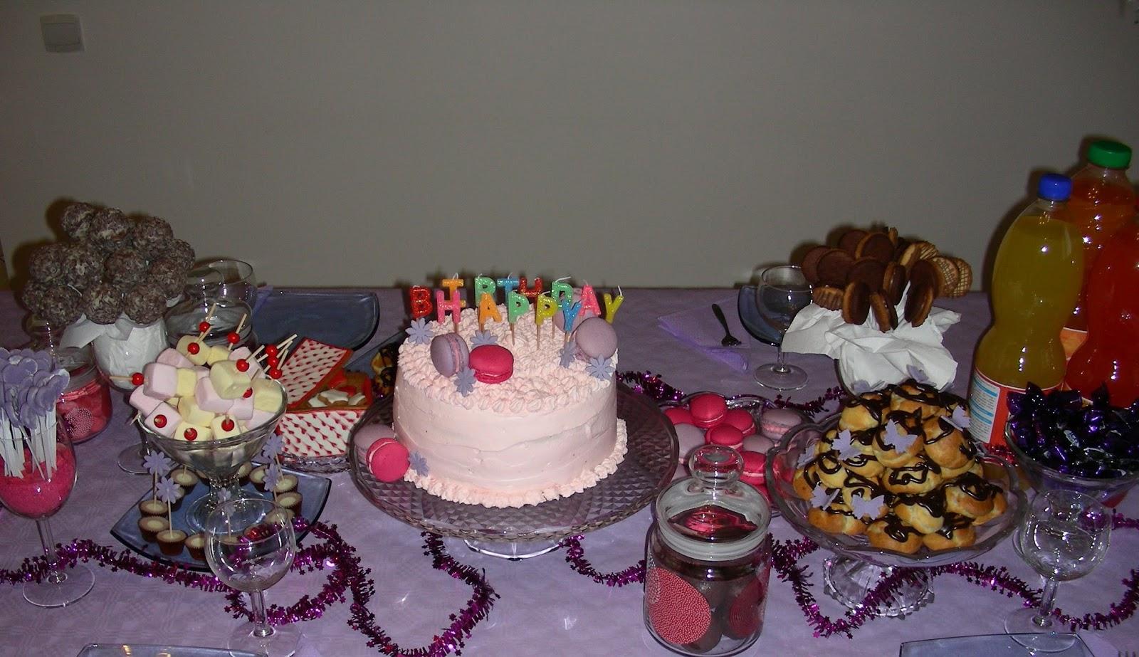 Gateau pour buffet anniversaire