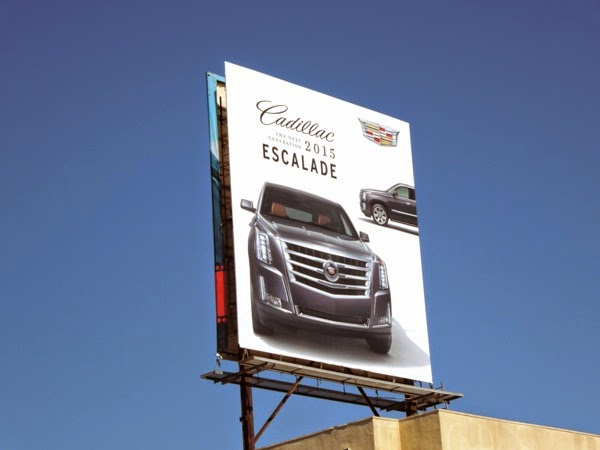 Cadillac 2015 Escalade billboard
