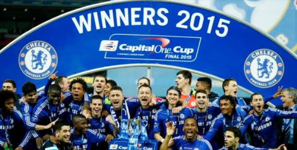 Chelsea Juara Piala Liga Inggeris 2015
