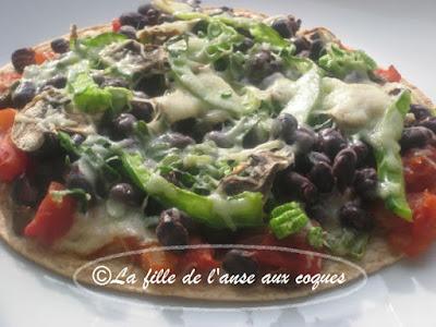 PIZZA EXPRESS À LA MEXICAINE