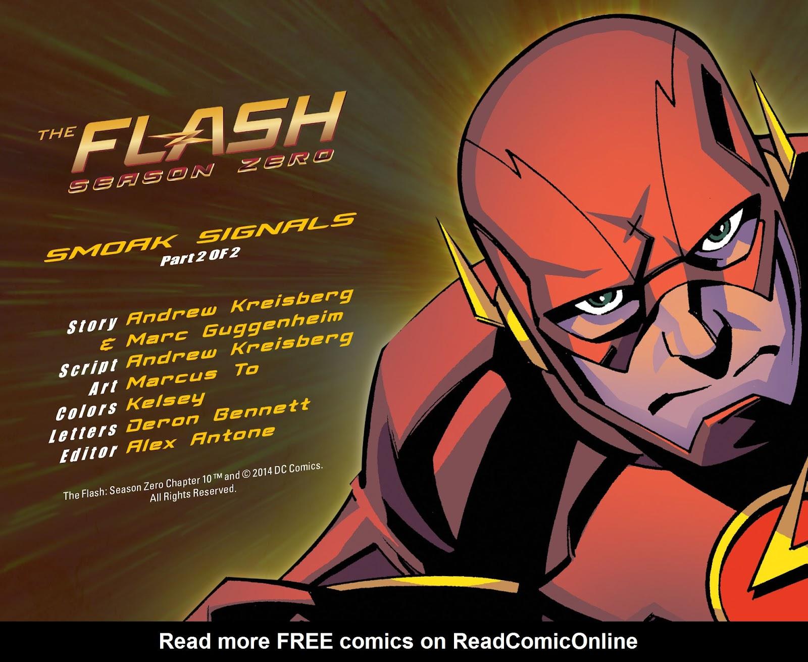 The Flash: Season Zero [I] Issue #10 #10 - English 2