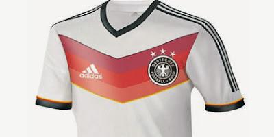 Los hinchas alemanes se quejan con adidas por la camiseta de su Selección para Brasil 2014