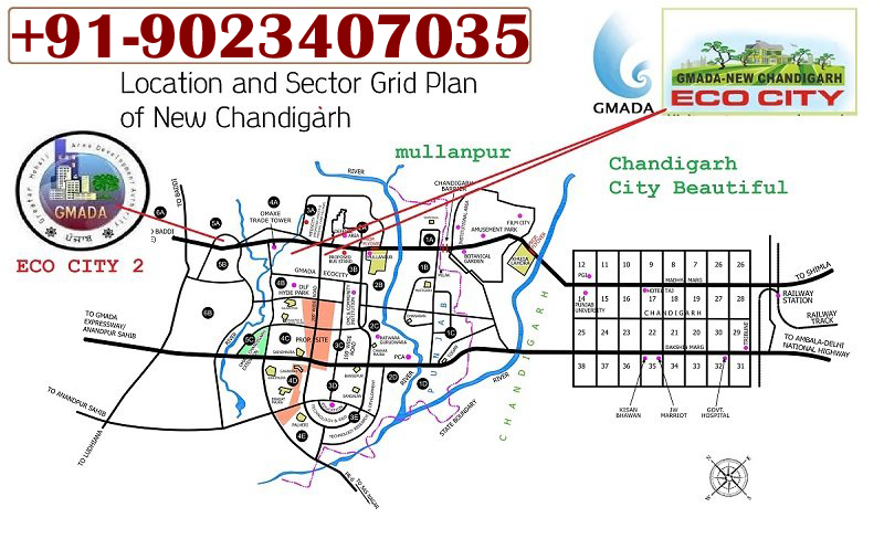 GMADA ECOCITY PHASE 2 MULLANPUR NEW-CHANDIGARH