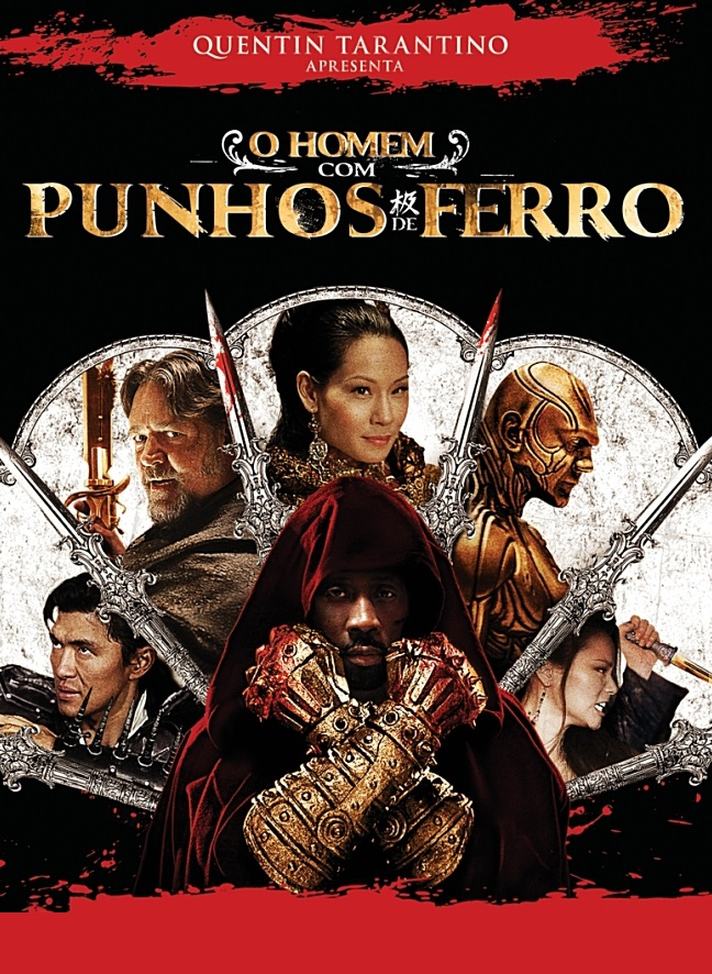Capa/cartaz/pôster nacional de O HOMEM COM PUNHOS DE FERRO (The Man With the Iron Fists)