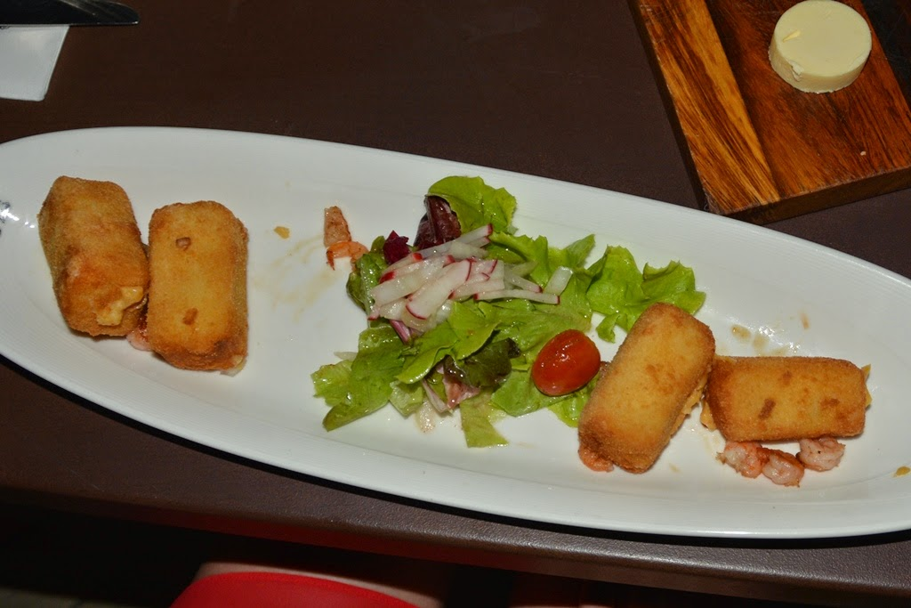 Belgian Beer Cafe Patong shrimp croquette