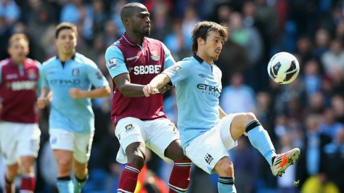PREVIEW Pertandingan Manchester City vs West Ham United 11 Mei 2014 Malam Ini