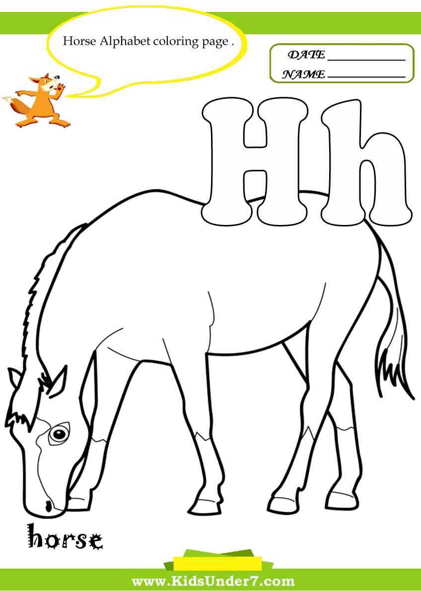 Letter H Coloring Pages V For Vegetables Page With Handwriting Practice